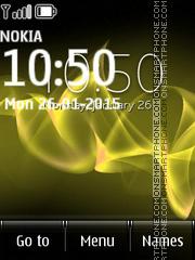 Скриншот темы Sony Xperia Yellow Lines