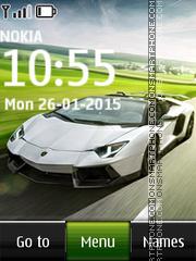 Lamborghini 23 es el tema de pantalla
