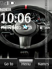BMW Steering wheel es el tema de pantalla