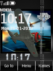 World of Warplanes tema screenshot