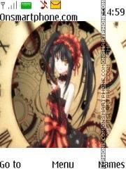 Tokisaki Kurumi theme screenshot