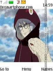Kabuto Sage Naruto theme screenshot