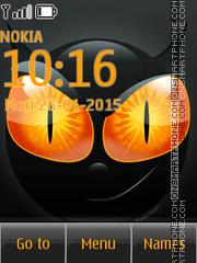 Cat Eyes 02 theme screenshot