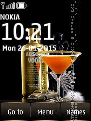 Vodka Absolut 02 es el tema de pantalla