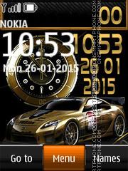 Nissan Dual Clock es el tema de pantalla