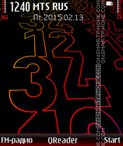 12-34 es el tema de pantalla