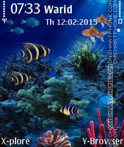 Aquarium2 es el tema de pantalla