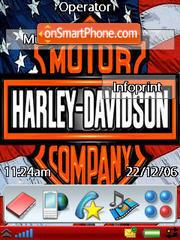 Harley 2 Rd M600i theme screenshot
