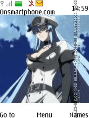 Esdeath theme screenshot