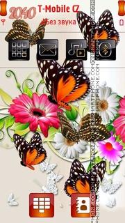 Butterflies 06 es el tema de pantalla