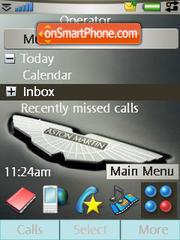 Aston Martin 02 theme screenshot