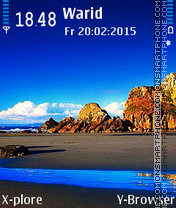 Blue Sky es el tema de pantalla