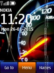 Speedo 01 es el tema de pantalla