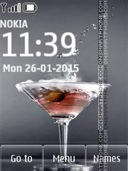Martini with Olives es el tema de pantalla