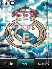 Real Madrid 2039 tema screenshot