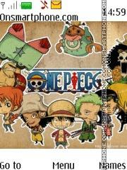 One Piece es el tema de pantalla