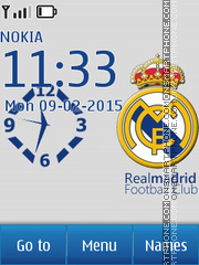 Real Madrid 2040 tema screenshot