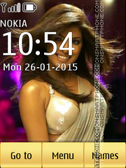 Priyanka Chopra 11 theme screenshot