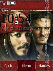 Pirates of the Caribbean 10 theme screenshot