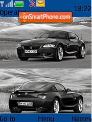Bmw Z4m theme screenshot