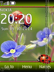 Ladybug 05 theme screenshot