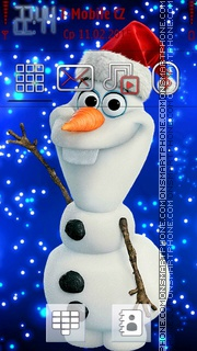 Snowman in Winter es el tema de pantalla