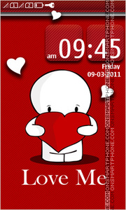 Love Me 08 theme screenshot
