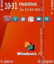 Window window es el tema de pantalla