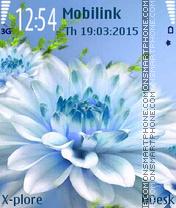 Cool Flower es el tema de pantalla