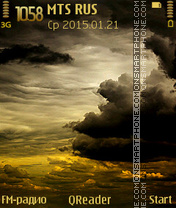 Gloomy-Sky es el tema de pantalla