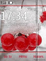 Frozen Berries es el tema de pantalla