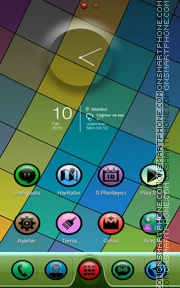 Colormatic es el tema de pantalla