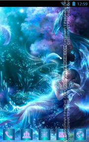Abstract Sea es el tema de pantalla