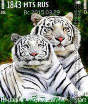 White Tigers es el tema de pantalla