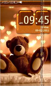 Teddy Bear 10 theme screenshot