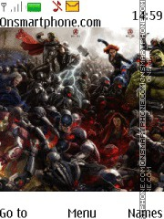 Avenger Age of Ultron theme screenshot