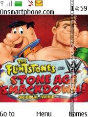 WWE & The Flintstones es el tema de pantalla