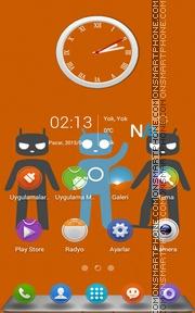 Cyanogen es el tema de pantalla