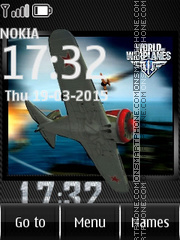 World of Warplanes 01 tema screenshot