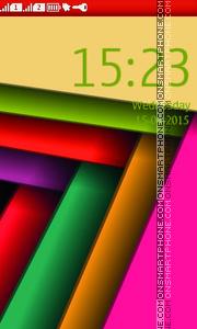 Abstract Vector theme screenshot