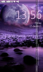 Moon theme screenshot