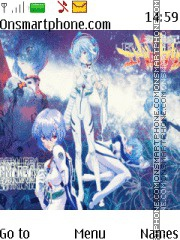 Rei Ayanami Evangelion Theme-Screenshot