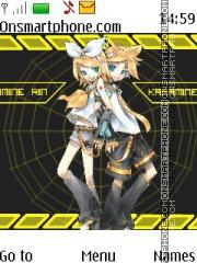 Rin & Len Kagamine theme screenshot