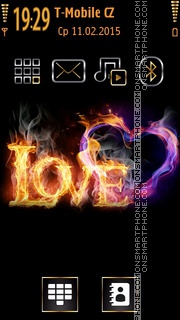 Love 03 theme screenshot