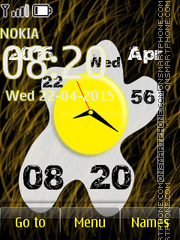 Egg Clock 01 theme screenshot