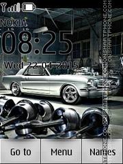Mustang Classic Car es el tema de pantalla