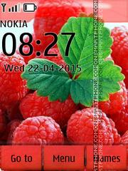 Raspberry 02 es el tema de pantalla