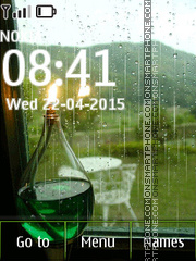 Rain Animated 01 theme screenshot