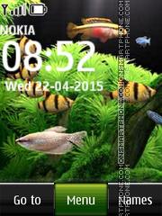Fish Aquarium es el tema de pantalla