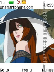 Mizukage Naruto theme screenshot